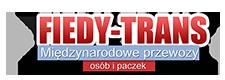 Fiedy Trans międzynarodowe przewozy osób i paczek Logo